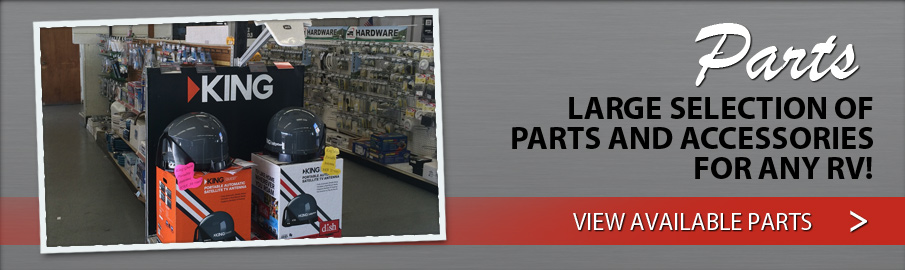 Large selection of RV parts & accessories