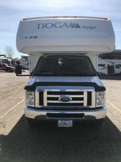 Front view of the Tioga Ranger