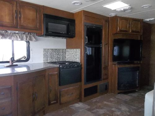 kitchen in the Mirada 36 foot